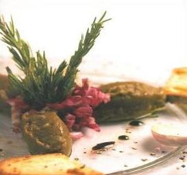 Caviar d'aubergines à l'ail rose de Lautrec