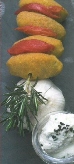 Croquettes d'ail blanc