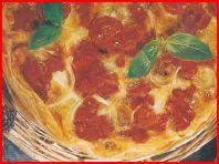 Croustillant à tomate