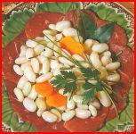 Salade de Haricots et magret fumé